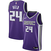 Nike Men's Sacramento Kings Buddy Hield #24 Purple Dri-FIT Swingman Jersey