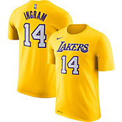 Nike Men's Los Angeles Lakers Brandon Ingram #14 Dri-FIT Gold T-Shirt