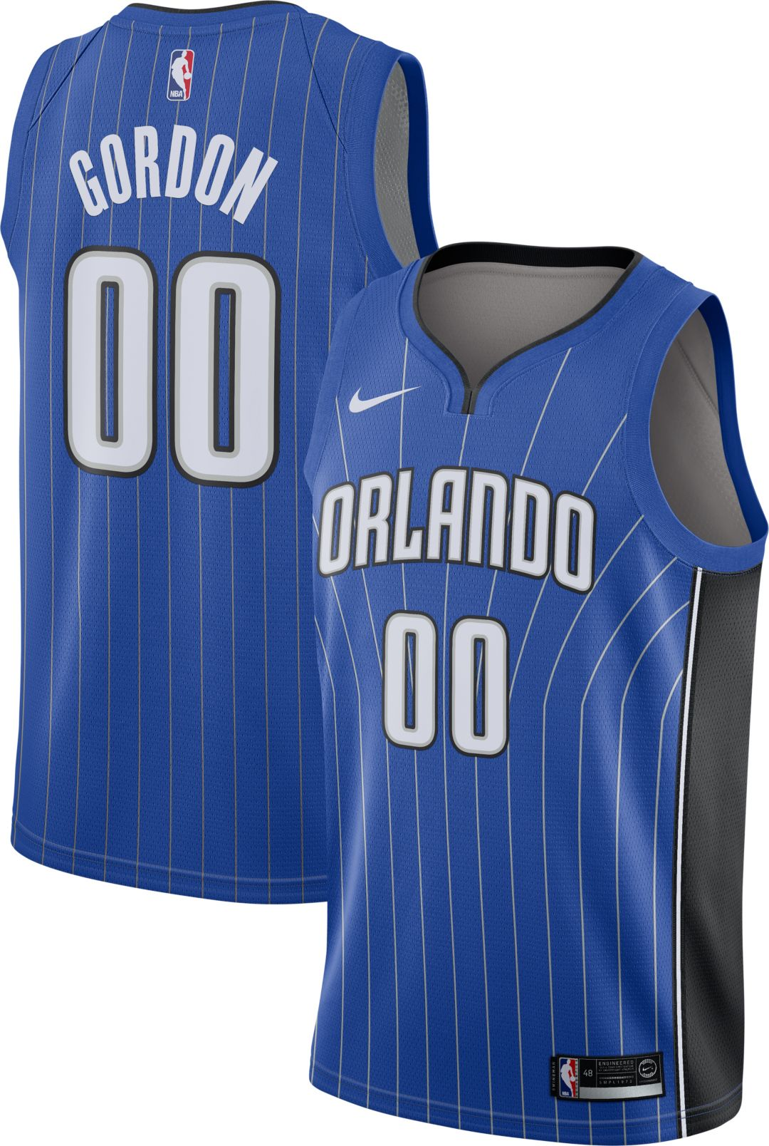 lowest price 5658a 1c786 Nike Men's Orlando Magic Aaron Gordon #00 Royal Dri-FIT Swingman Jersey