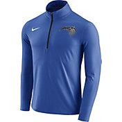 Nike Men's Orlando Magic Dri-FIT Royal Element Half-Zip Pullover