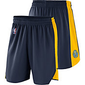 Nike Men's Denver Nuggets Dri-FIT Navy Practice Shorts