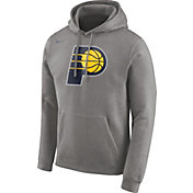 Nike Men's Indiana Pacers Club Grey Pullover Hoodie