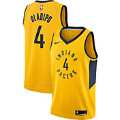 Nike Men's Indiana Pacers Victor Oladipo #4 Gold Dri-FIT Swingman Jersey