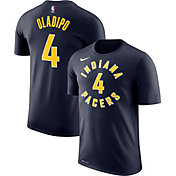 Nike Men's Indiana Pacers Victor Oladipo #4 Dri-FIT Navy T-Shirt
