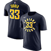cfd796c01 Product Image · Nike Men's Indiana Pacers Myles Turner #33 Dri-FIT Navy T- Shirt