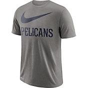 Nike Men's New Orleans Pelicans Dri-FIT Legend Grey T-Shirt