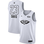 Jordan Men's 2018 NBA All-Star Game Anthony Davis White Dri-FIT Swingman Jersey