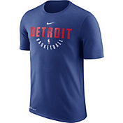 Nike Men's Detroit Pistons Dri-FIT Royal Practice T-Shirt