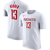Nike Men's Houston Rockets James Harden #13 Dri-FIT White T-Shirt