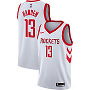 Nike Men's Houston Rockets James Harden #13 White Dri-FIT Swingman Jersey