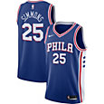 Nike Men's Philadelphia 76ers Ben Simmons #25 Royal Dri-FIT Swingman Jersey