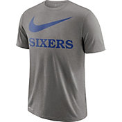 Nike Men's Philadelphia 76ers Dri-FIT Legend Grey T-Shirt