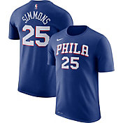 Nike Men's Philadelphia 76ers Ben Simmons #25 Dri-FIT Royal T-Shirt