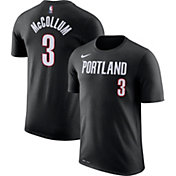 Nike Men's Portland Trail Blazers C.J. McCollum #3 Dri-FIT Black T-Shirt