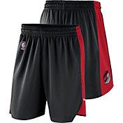 Nike Men's Portland Trail Blazers Dri-FIT Black Practice Shorts
