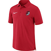 Nike Men's Portland Trail Blazers Dri-FIT Red Core Polo