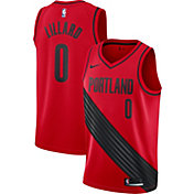 Nike Men's Portland Trail Blazers Damian Lillard #0 Red Statement Dri-FIT Swingman Jersey