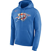 Nike Men's Oklahoma City Thunder Club Blue Pullover Hoodie
