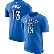 Nike Men's Oklahoma City Thunder Paul George #13 Dri-FIT Blue T-Shirt