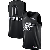Jordan Men's 2018 NBA All-Star Game Russell Westbrook Black Dri-FIT Swingman Jersey