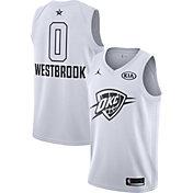 Jordan Men's 2018 NBA All-Star Game Russell Westbrook White Dri-FIT Swingman Jersey