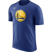 Nike Men's Golden State Warriors Dri-FIT Royal Logo T-Shirt