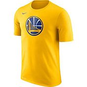 Nike Men's Golden State Warriors Dri-FIT Gold Logo T-Shirt