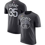 Nike Men's Golden State Warriors Kevin Durant #35 Dri-FIT Grey T-Shirt