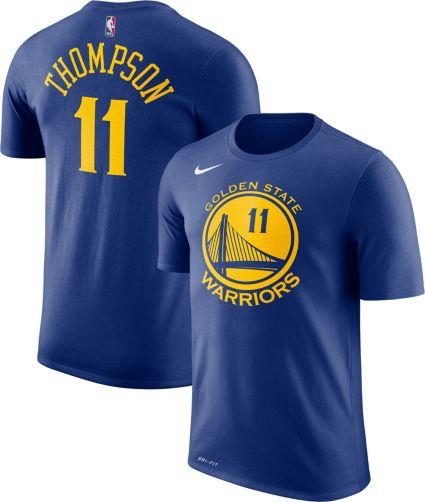 9e4b37d8e Nike Men s Golden State Warriors Klay Thompson  11 Dri-FIT Royal T-Shirt.  noImageFound