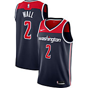 Nike Men's Washington Wizards John Wall #2 Navy Dri-FIT Swingman Jersey