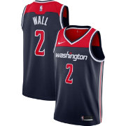 Nike Men's Washington Wizards John Wall #2 Navy Statement Dri-FIT Swingman Jersey
