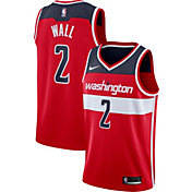 Nike Men's Washington Wizards John Wall #2 Red Dri-FIT Swingman Jersey