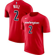 Nike Men's Washington Wizards John Wall #2 Dri-FIT Red T-Shirt
