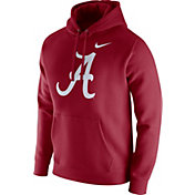 Nike Men's Alabama Crimson Tide Crimson Club Fleece Hoodie