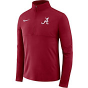 Nike Men's Alabama Crimson Tide Crimson Core Half-Zip Shirt