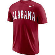 Nike Men's Alabama Crimson Tide Crimson Wordmark T-Shirt