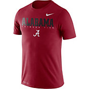 Nike Men's Alabama Crimson Tide Crimson Football Dri-FIT Facility T-Shirt