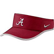 Nike Men's Alabama Crimson Tide Crimson Aerobill Featherlight Visor