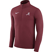 Nike Men's Alabama Crimson Tide Crimson Element Performance Quarter-Zip
