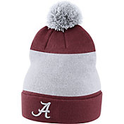 Nike Men's Alabama Crimson Tide Crimson Football Sideline Beanie