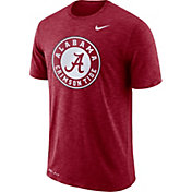 Nike Men's Alabama Crimson Tide Crimson Dri-FIT Football Sideline Slub T-Shirt