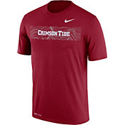 Nike Men's Alabama Crimson Tide Crimson Football Sideline Legend T-Shirt