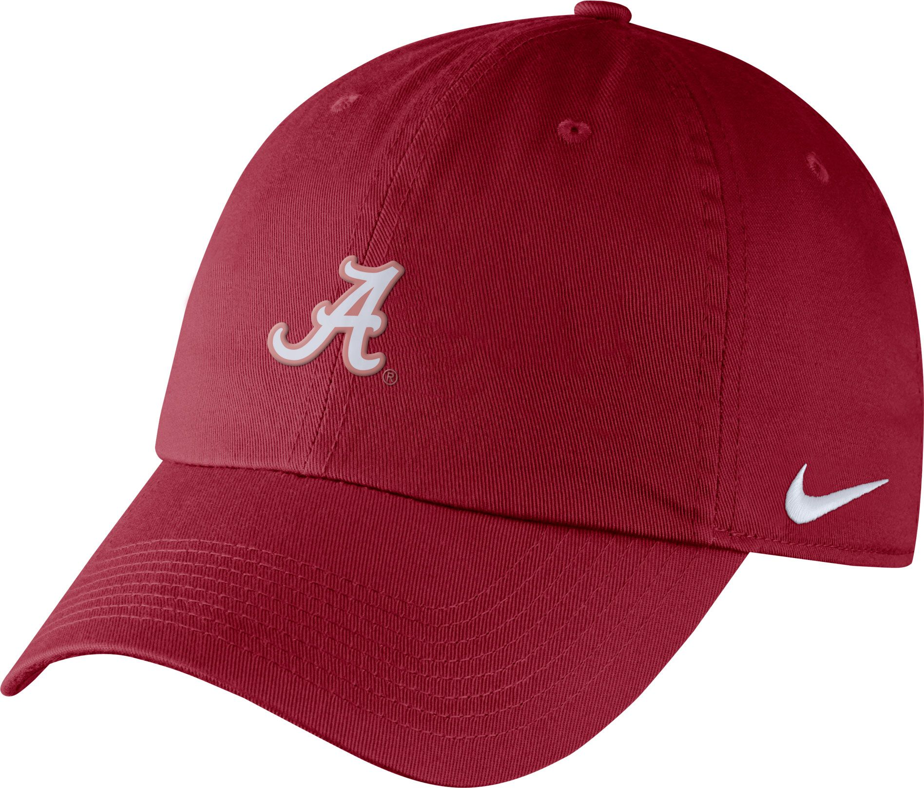 550014a1605 ... discount code for nike mens alabama crimson tide crimson heritage86  small logo adjustable hat 64b45 a7123