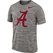 Nike Men's Alabama Crimson Tide Charcoal Football Dri-FIT Travel T-Shirt