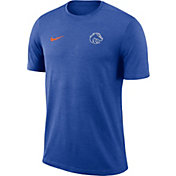 Nike Men's Boise State Broncos Blue Coach Football T-Shirt