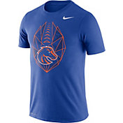Nike Men's Boise State Broncos Blue Dri-FIT Football Icon T-Shirt