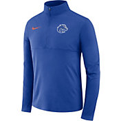 Nike Men's Boise State Broncos Blue Core Half-Zip Shirt