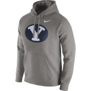 Nike Men's BYU Cougars Grey Club Hoodie