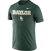 Nike Men's Baylor Bears Green Football Dri-FIT Facility T-Shirt