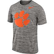 Nike Men's Clemson Tigers Charcoal Football Dri-FIT Travel T-Shirt
